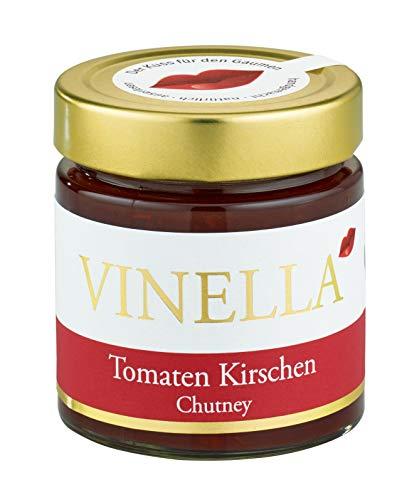 VINELLA Tomaten Kirsch Chutney I handgemacht I natürlich I Manufaktur I made in germany I