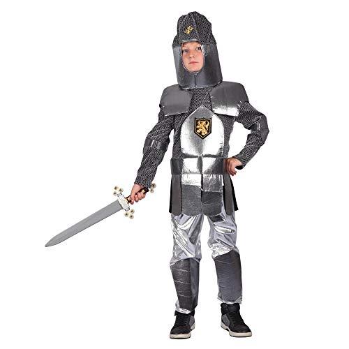 Bristol Novelty Knight Armour, Jongens, Zilver, Zwart