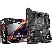 GIGABYTE B550 AORUS PRO AC (AM4 AMD/B550/ATX/Dual M.2/SATA 6Gb/s/USB 3.2 Gen 2/Intel Dual Band 802.11AC WiFi/2.5 GbE LAN/PCIe 4.0/RGB Fusion 2.0/DDR4/Gaming Motherboard)
