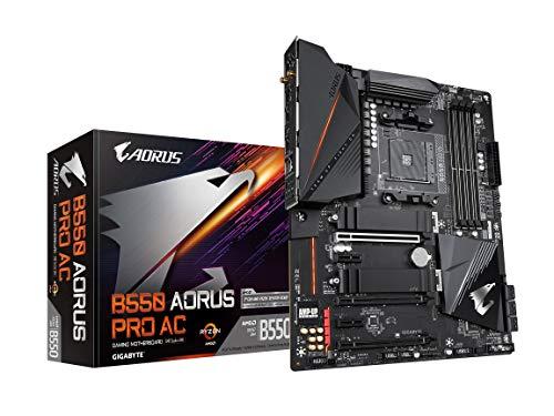 GIGABYTE B550 AORUS PRO AC (AM4 AMD/B550/ATX/Dual M.2/SATA...