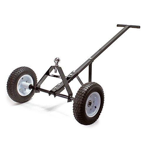 Wiltec Aiuto per manovrare roulotte 110x72x30 cm con Maniglia 270kg Carrello di manovra per Camper