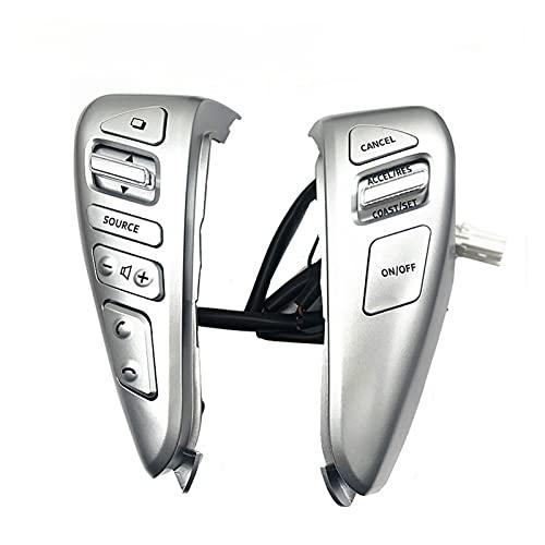 YONGFENG WANGml Control de cruceros del Volante Interruptores Bluetooth Fit para Nissan Fit para Tiida Sentra Fit para Sunny Fit para Livina Almera Cube Versa Note