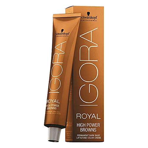 Schwarzkopf IGORA HIGH POWER BROWNS B-33 Braun Petrol 60 ml