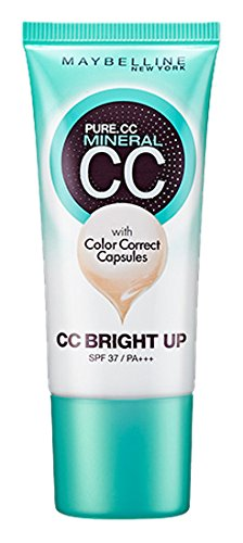 Japan Beauty - Maybelline Pure Mineral CC Bright up 01 Bright ocherAF27