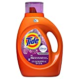 Tide Plus Febreze Freshness HE Turbo Clean Liquid Laundry Detergent, Spring Renewal Scent, 2.72 L (59 Loads) (Packaging May Vary)