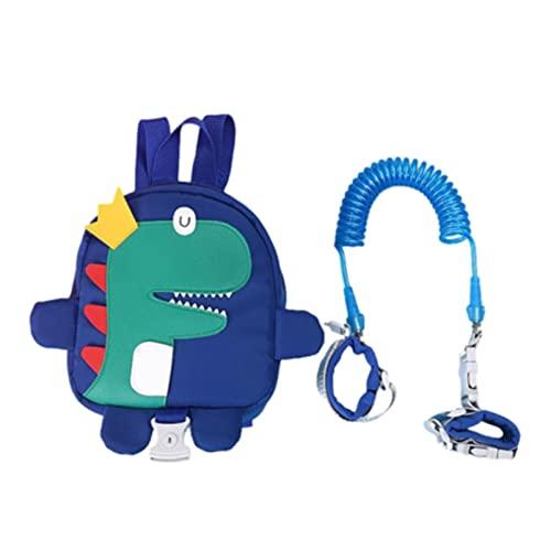 LEMORTH Cuerdas para caminar de las riendas para bebés, cuerda anti-perdida de la mochila linda, para niños pequeños, redes de niños pequeños para caminar 1-3 años, cinturón de seguridad para niños pe