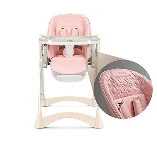 MASODHDFX De Prinses Poeder Baby Eetstoel Hoge Stoel Opvouwbare Draagbare Multifunctionele Kinderstoel Ei Gevormde Dinner Stoel