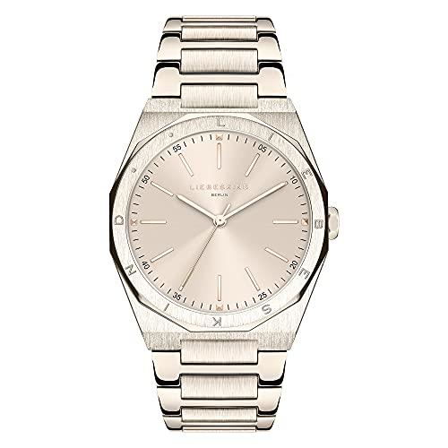 Liebeskind Berlin Reloj Analógico para Mujer de Cuarzo con Correa en Acero Inoxidable LT-0294-MQ