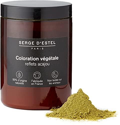 Henné Rouge Ardent 400g Coloration Végétale Reflets Acajou Coloration aux Plantes Sublimant les Cheveux de Magnifiques Reflets Acajou