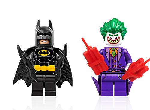 The Lego Batman Movie Minifigure - Juego de figuras de Batman y Joker con Grin Combo (Limited Edition Foil Packs)