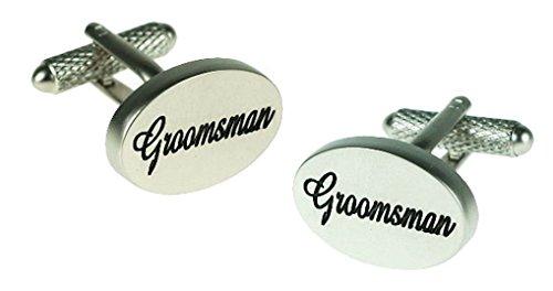 Boutons de manchette en boîte cadeau-To Remember Groomsman Livrés ck655mariage Groom Best Man Usher