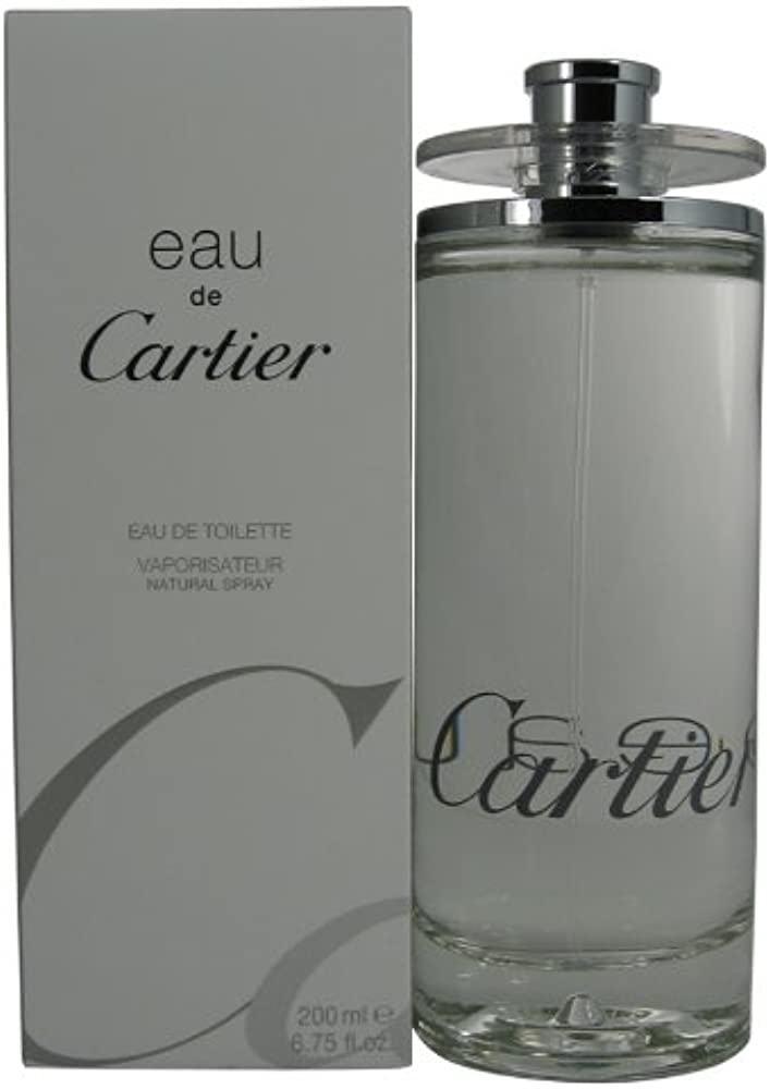 Cartier eau de toilette spray per uomo 200 ml 412498