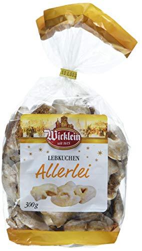 Wicklein Nürnberger Lebkuchen Allerlei, 10er-Pack (10x300g)