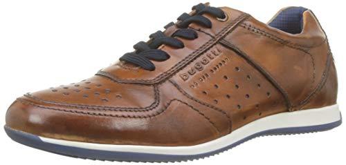 bugatti Herren 311450073500 Niedrig Sneaker, Braun, 44 EU