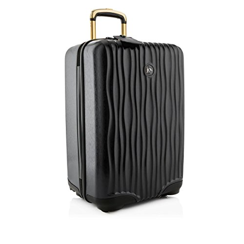 Joy Mangano Hardside Medium Carry-On Luggage, Black Onyx