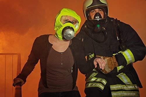 Dräger 5530 Parat Brand-Fluchthaube im robusten Hard Case | Effektive Rettungshaube zum Schutz vor Brandgasen, Kohlenmonoxid (CO) - 6