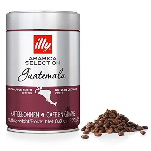 illy Espresso Kaffee, Espressobohnen der Arabica Selection aus Guatemala, 250 g