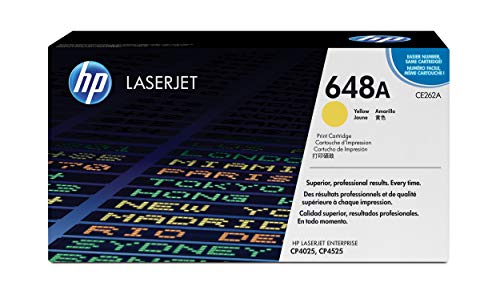 HP 648A | CE262A | Toner Cartridge | Yellow