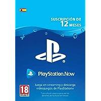 PlayStation Now - Suscripción 12 Meses   Código de descarga PS4 - Cuenta española
