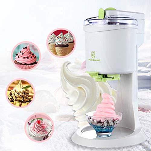 GsMeety Máquina de Hacer Helados, Heladera con Dispensador de Helado, Capacidad 1L, para Alternativas A Helado o Yogurt