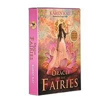 jokeWEN Fairies Tarot オラクルオブザフェアリーズ44カードデッキとガイドブック英語タロットパーティーボードゲーム