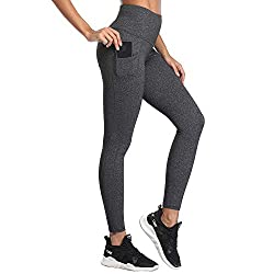 ❤High Waist Tummy Control: Wear with SIMIYA 5 inch (13cm) high waisted wide waistbands tummy control leggings, to show your beautiful body curve wherever you want. Warm Tips: We adjusted our sports leggings size, please according to the size chart to...