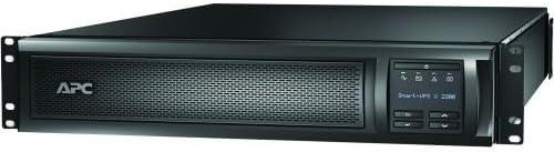 APC SMX2200R2HVNC Smart-UPS X 2200 Rack/Tower LCD - UPS (rack-mountable / external) - AC 230 V - 1980 Watt - 2200 VA - Ethernet 10/100, RS-232, USB -
