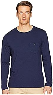 トッドスナイダー Todd Snyder メンズ トップス シャツ ブラウス Navy Made In The USA Pocket Long Sleeve T-Shirt [並行輸入品]