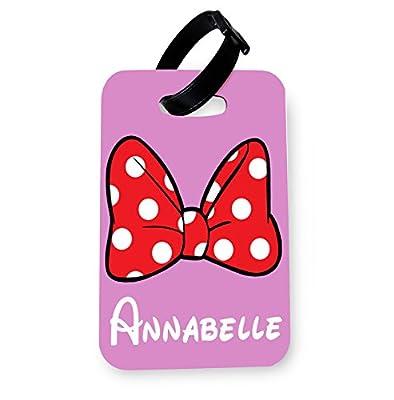 WTF | Minnie Personalised | Printed Art Luggage Tag