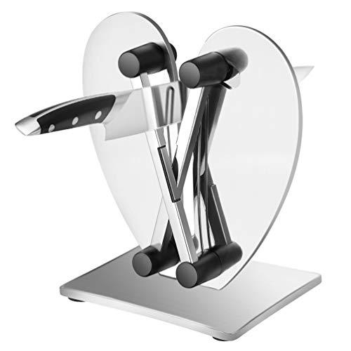 Uarter Messerschärfer Küche Manuelle Messerschärfer, Messer Hones & Polishes Gezahnte, abgeschrägte und Standardklingen