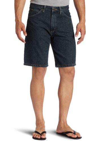 Lee Men's Regular Fit Denim Short, Quartz Stone, 36