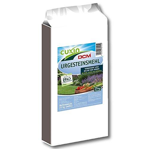 Cuxin Urgesteinsmehl 25 kg Bodenhilfsstoff Bodenverbesserer Bodenaktivator Steinmehl