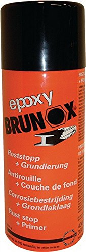 Preisvergleich Produktbild Rostumwandler Epoxy-Spray 400ml Spraydose Brunox,  12 Stück