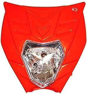 Sinnper universale moto bici faro luce parapolvere proteggere motocross moto faro Supermoto per KTM SX EXC XCF faro paralume dirt bike Moter bianco tasca