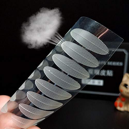 LLine 120 PCS Populaire Dentelle Transparent Paupière Autocollant Invisible Paupière Pâte Auto-adhésif Double Oeil Ruban Maquillage Outil, Style 4