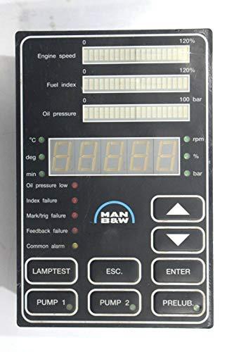 MAN B&W MBD NR 3171197-4 HMI Panel Modul Marine Motor Controller Indikator
