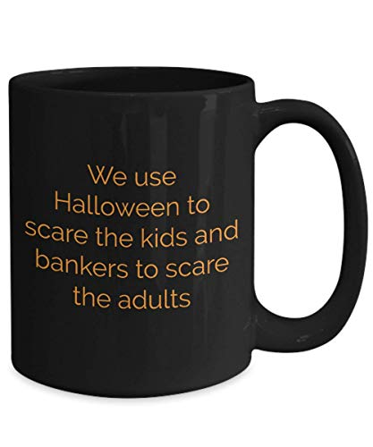 N\A Spooky Halloween Taza de caf Truco Regalo casa embrujada Pirata Fantasma Calabaza nios Zombie Miedo Disfraz Esqueleto Truco Regalo Bruja