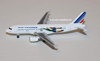 herpa 1/500 A340-300 エールフランス フランス 1998 ブラジル コロンビア F-GLZK