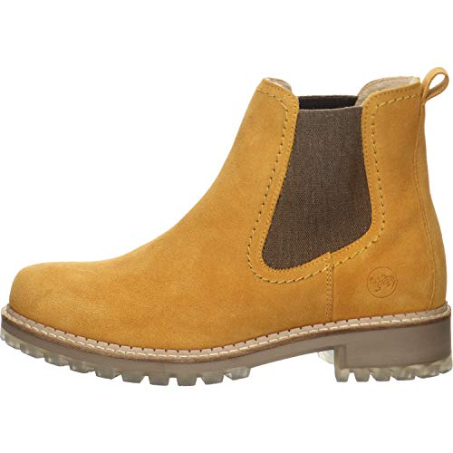 Salamander Damen Chelsea Boots gelb Gr. 40