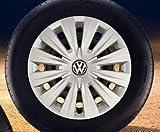 Original Volkswagen Repuesto VW Tapacubos (Golf 7 VII) 15 pulgadas Cubierta de la rueda, original VW Zubehör