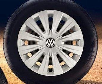 Original Volkswagen VW Ersatzteile VW Radkappen (Golf 7 VII) 15-Zoll Radzierblende, Original VW Zubehör