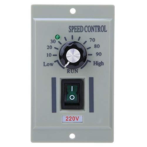 Controlador de velocidad del motor de CC Entrada de 220 V Regulador del Interruptor de Control de Velocidad del Motor Pequeño dentro de 500 w Motores de Escobillas Motores(Output Voltage DC 0-