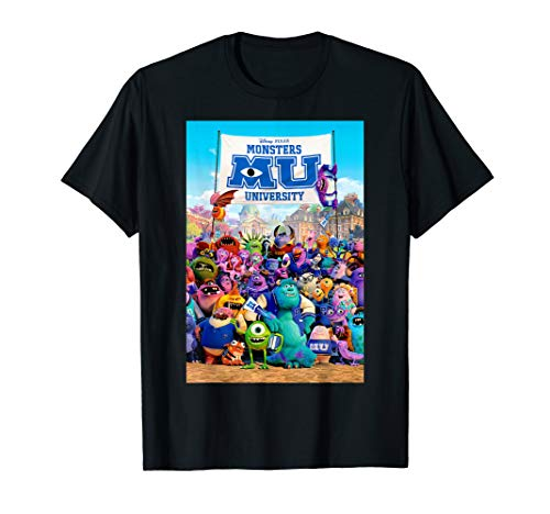 Disney Pixar Monsters University Poster T-Shirt