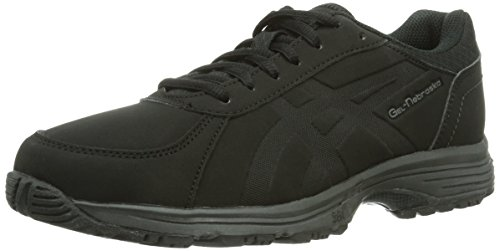 ASICS Damen Gel-Nebraska Walkingschuhe, Schwarz (Black/Black 9090), 38 EU