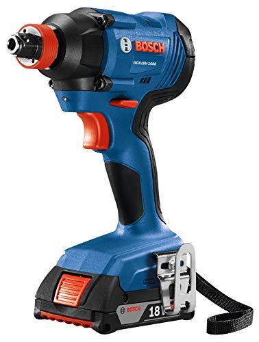 Bosch GDX18V-1600B12 18V Freak 1/4 In. and 1/2 In. Two-In-One Bit/Socket Impact Driver Kit
