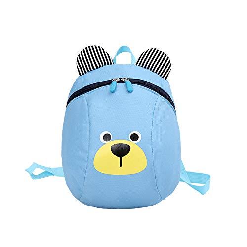 Rugzak voor Kinderen/Peuters Baby Kinderdagverblijf Tas met Veiligheid Harnassen Rood Blauw