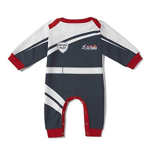 Red Bull Air Race Baby Pilot Strampler, Blau Youth 62Strampelanzug, Air Race Original Bekleidung & Merchandise