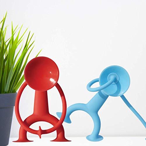 Moluk 2843102 43102 OOGI, elastische Stretch-Figur mit Saugnäpfen, Lernspielzeug aus Silikon, kreativer Spielspaß für Kinder ab 3 Jahren, Motorikspielzeug