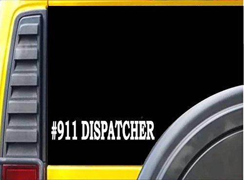 #Dispatcher K486 8 inch Sticker 911 dispatch decal