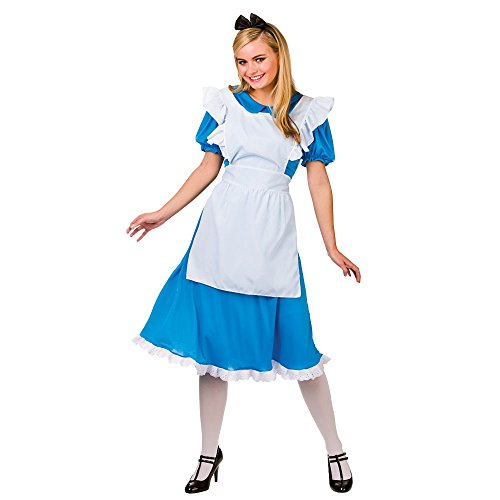 Storybook Alice Costume Woman Fancy Dress XLarge